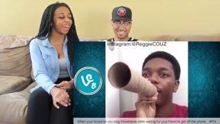Couple Reacts : Funniest Reggie Couz Vines Compilation Reaction!!