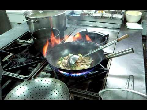 Chinese Restaurant's Kitchen