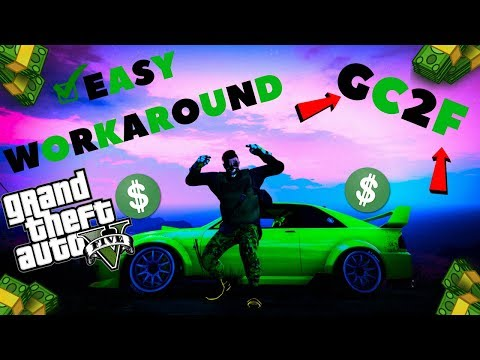 *GIVE CARS TO FRIENDS*EASY WORKAROUND *GC2F*UNLIMITED MONEY GLITCH CAR DUPLICATION GTA 5 ONLINE 1.41