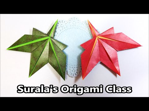 Origami - Maple Leaf