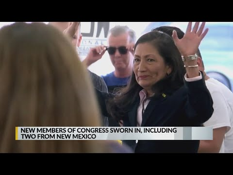 New Mexico's newest members of Congress sworn in
