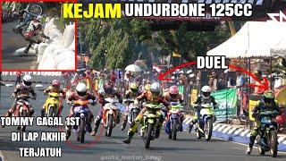 UNDERBONE 125CC kelasnya para raja tu 125 cc _ jepara road race 2019