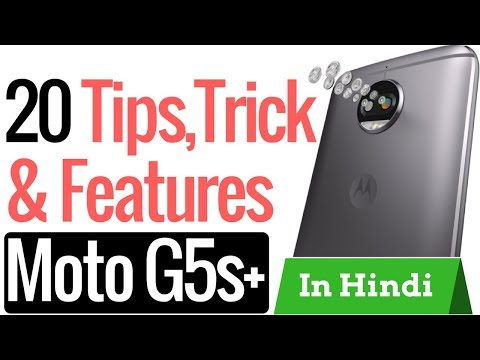 Moto G5s Plus Tips And Tricks In Hindi | Hidden Features | Top 10 Features | Techno Talk