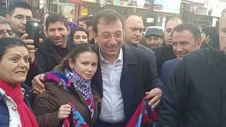 Ekrem İmamoğlu'nun Esenyurt'ta pazar esnafını ziyaretinden izlenimler