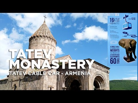 Tatev Monastery | Wings Of Tatev | Longest Aerial Tram | Tatev Cable Car | Armenia Travel 2019