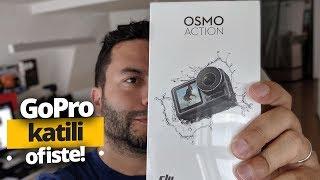 DJI Osmo Action Kutu Açılışı - GoPro katili SDN ofisine geldi!