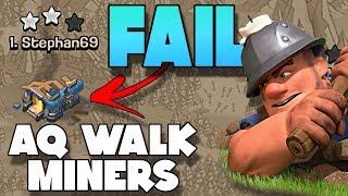 Fix This Fail | Queen Walk Miner War Attack | Clash of Clans