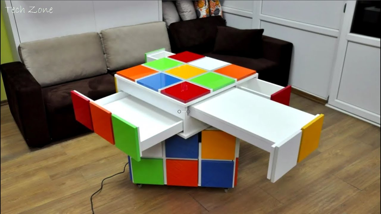 GREAT SPACE SAVING IDEAS - SMART FURNITURE - YouTube