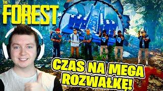 THE FOREST MULTI #01 - CZAS NA MEGA ROZWAŁKĘ W 8 OSÓB! | VERTEZ