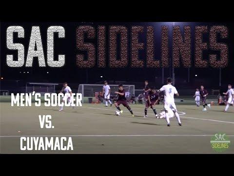 Mt. SAC Men's Soccer vs Cuyamaca College
