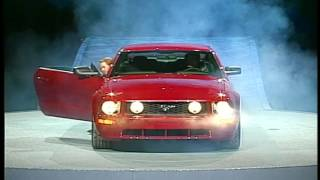 Mustang Reveal January 2005 - Fifth Generation Introduction