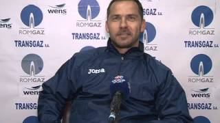 Flaviu Somfalean dupa Gaz-Chindia 2-1 | novatv.ro