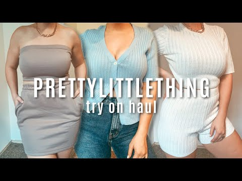 HUGE PRETTY LITTLE THING TRY ON HAUL | AFFORDABLE CLOTHING 2020