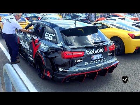 Jon Olsson's 1000HP(!) Audi RS6 Avant DTM W/ Milltek Exhaust! LOUD On Track Sounds!