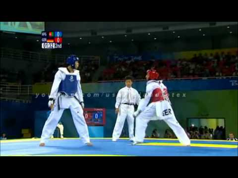 Taekwondo best kicks beijing 2008 (with music)