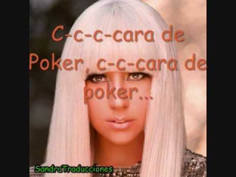 Poker Face Lady Gaga En Español Youtube
