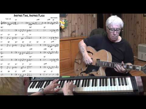 Another Time, Another Place - Jazz guitar & piano cover ( Benny Carter )