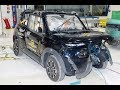 Citroen e-Mehari - 2017 - Crash test Euro NCAP
