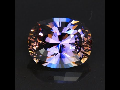 43.82 Carats Antique Cushion Natural Untreated Tanzanite Gemstone