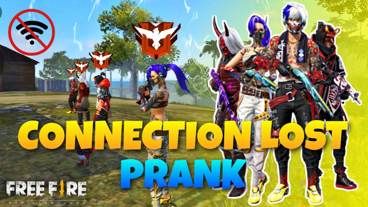 Connection Lost  Prank || Clash Squad Game Play || Doctor D Gamer