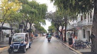 Driving Downtown - Key West Florida USA