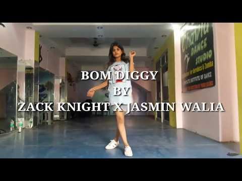 Zack knight X Jasmin walia - BOM DIGGY ||PERFORM BY ||PRIYANKA CHAWLA|| RAHUL CHAWLA