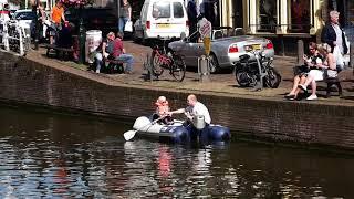 Mooie nazomerdag in Alkmaar centrum