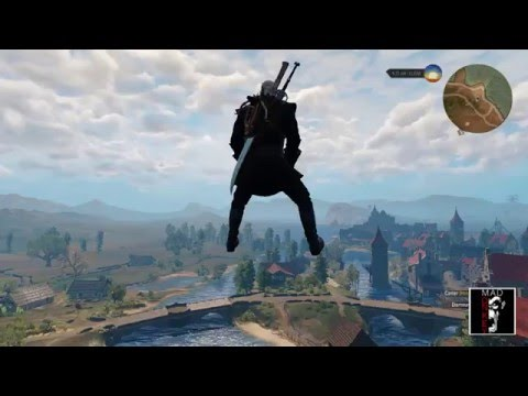 The witcher 3 heart of stone: flying and invisible horse