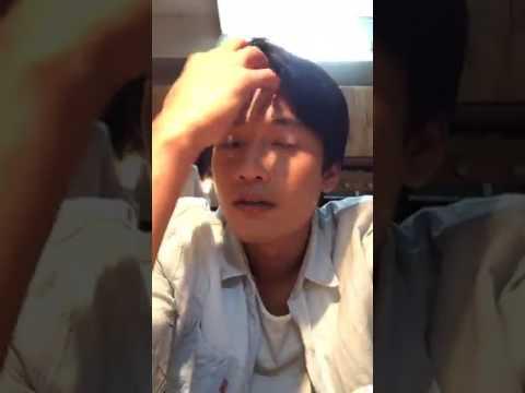 Diễn viên Quang Tuấn livestream giao lưu khán giả giờ nghỉ giải lao