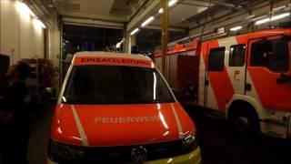 Oldenburger Feuerwehr rückt nach Hildesheim aus