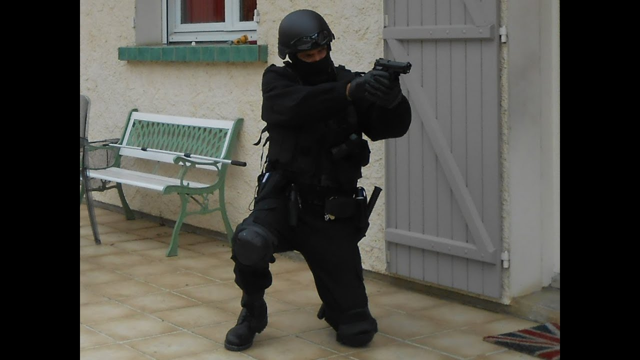 mon uniforme gign swat custom youtube
