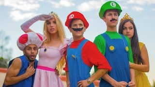 SUPER MARIO RUN |  Lele Pons, Rudy Mancuso & Juanpa Zurita(Watch the funny & crazy world with Super Mario, Luigi, Princess Peach, Toad, Daisy as they encounter Bowser and Koopa. Enjoy the Mannequin Challenge we ..., 2016-11-24T20:00:25.000Z)