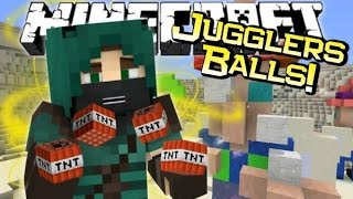 Minecraft | THE JUGGLERS BALLS! | Strangest Adventure Ever!