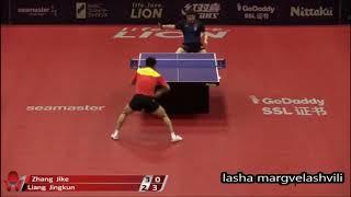 Liang Jingkun vs Zhang Jike (Japan Open 2018)