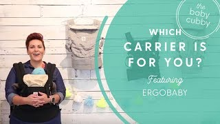 Which Ergobaby Carrier is Right For You? Orginal vs. 360 vs. Adapt vs. Omni