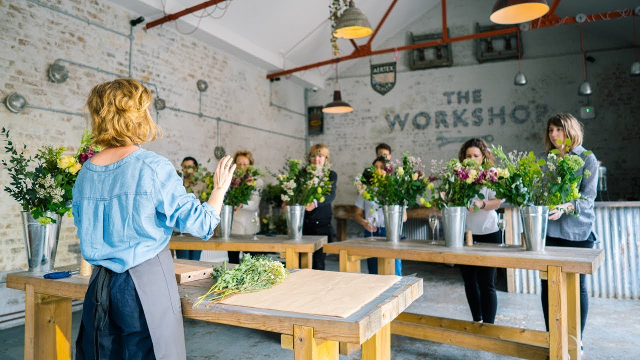 Flower Arranging Courses Youtube
