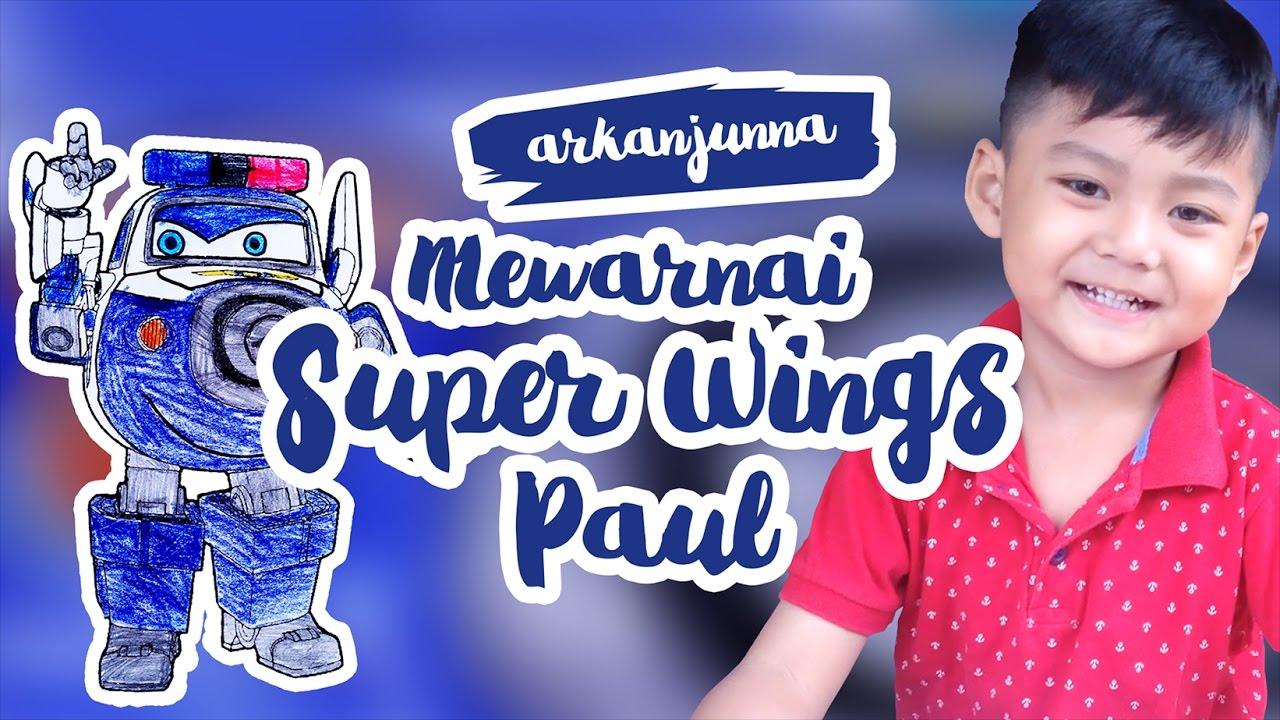 Gambar Mewarnai Gambar Super Wings Di Rebanas