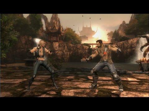 Mortal Kombat (2011) - Sonya Blade vs. Kano (Boss Fight) | PS3 Gameplay