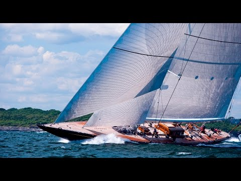 CNN Mainsail, Shirley Robertson - J-Class yacht revival