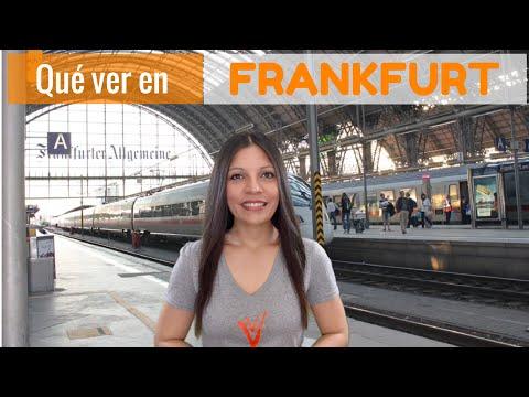 5 Lugares Que ver en Frankfurt Alemania