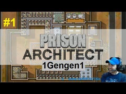 Prison Architect Arabic هندسة السجون المعماريّة : الحلقة#1