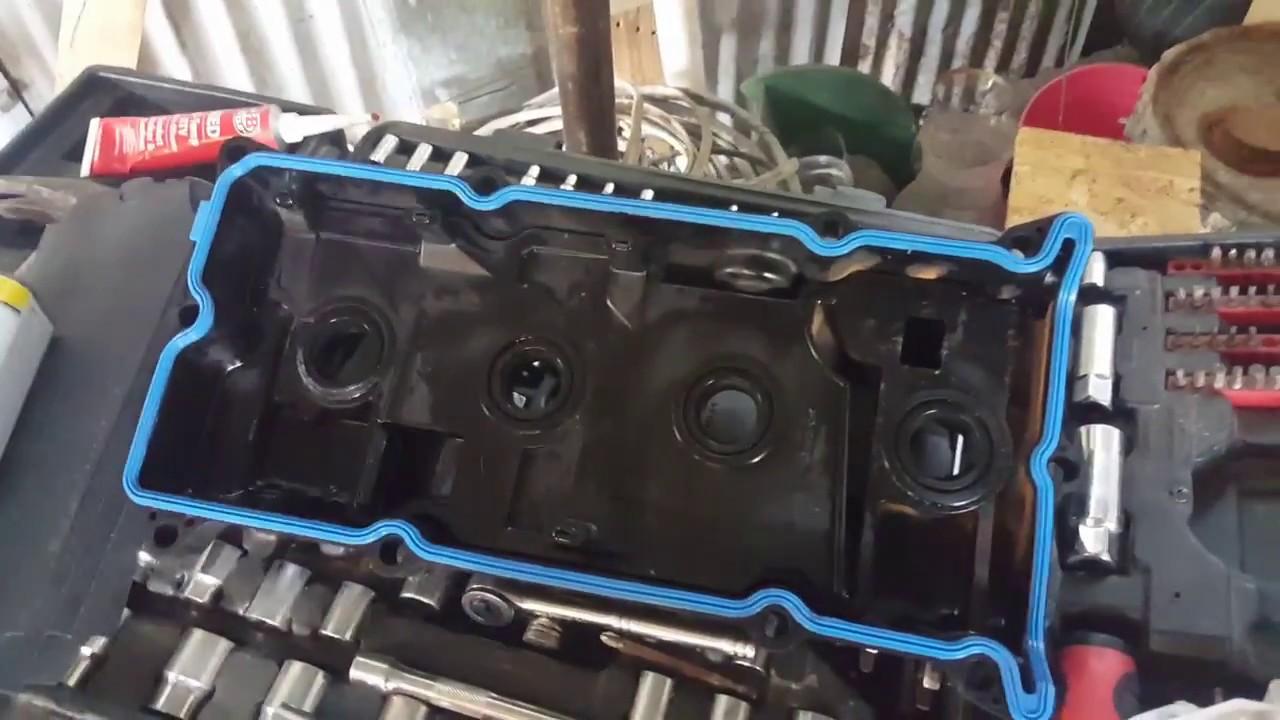 Nissan Altima Cambio De Junta Tapa De V 225 Lvulas Youtube