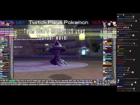 Twitch Plays Pokémon Battle Revolution - Match #21274
