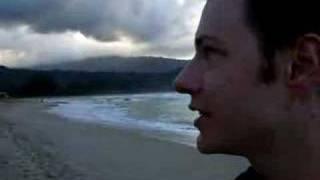 Eric explaining Puff, The Magic Dragon, Hanalei Kauai Hawaii