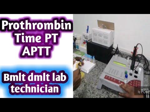 prothrombin time,pt,aptt,by lab technician adda