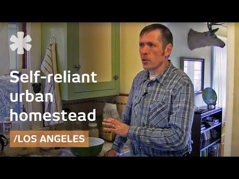 Self-reliance in LA: backyard farming + radical home economics