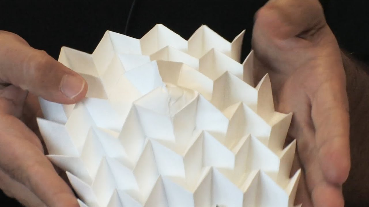 Itai Cohen Explains The Physics Of Origami