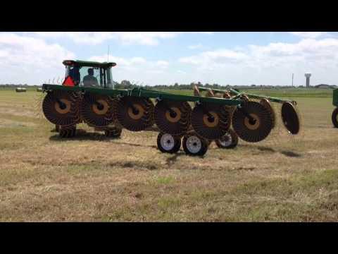 Ogden Hayrunner HR12 Carted Hybrid Hay Rake Price Bros Eq