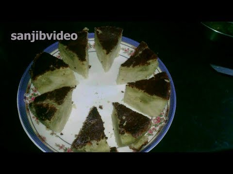 How To Make Sponge Cake In Microwave Oven Step By Step