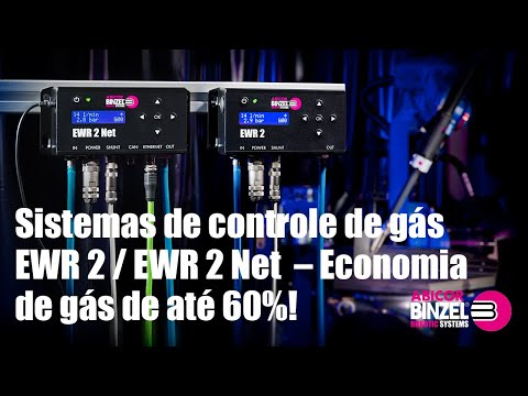 Sistemas de controle de gás EWR 2 / EWR 2 Net – Economia de gás de até 60%!